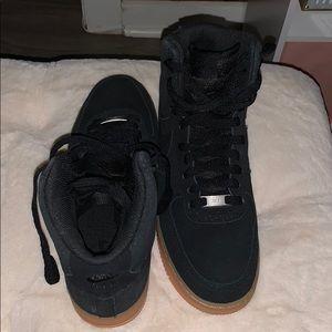 Women's Nike High Top Air Force 1's